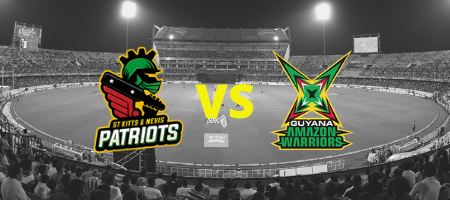 St Kitts & Nevis Patriots v Guyana Amazon Warriors